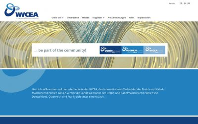 Neuer Webauftritt Iwcea
